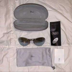 NWOT Christian DIOR Starlight sunglasses with case